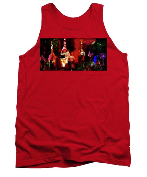 Tank Top featuring the painting Taste Of Wine by Lisa Kaiser