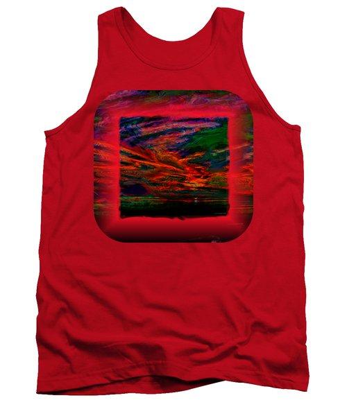Technicolor Sunset 2 Tank Top