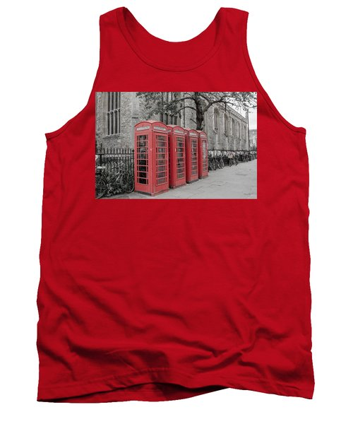 Telephone Boxes Tank Top