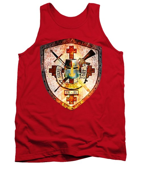 Templar Crest Tank Top