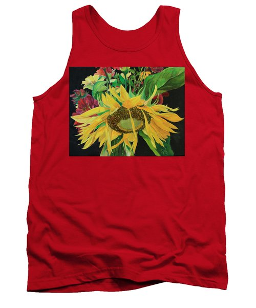 Tank Top featuring the painting Tender Mercies by Jane Autry