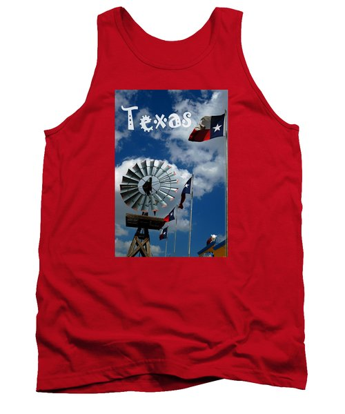 Tank Top featuring the photograph Texas by Bob Pardue