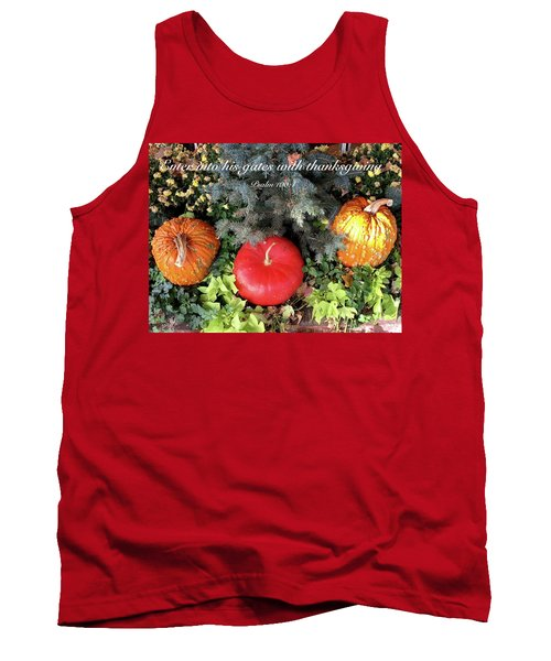 Thanksgiving Tank Top by Russell Keating