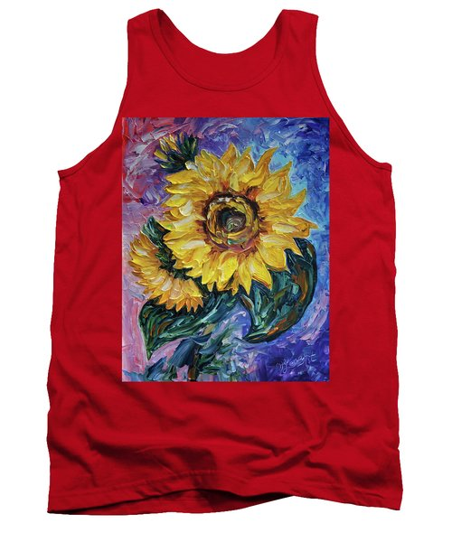 That Sunflower From The Sunflower State Tank Top