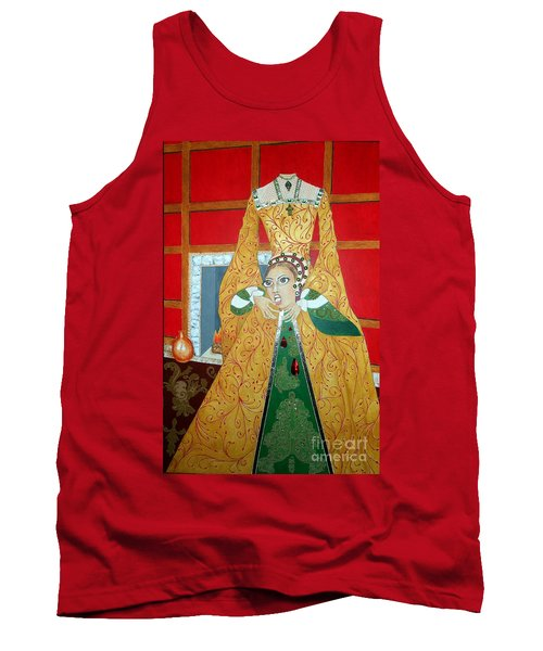 The 5th, Beheaded -- Tudor Portrait, Catherine Howard, #3 In Famous Flirts Series Tank Top