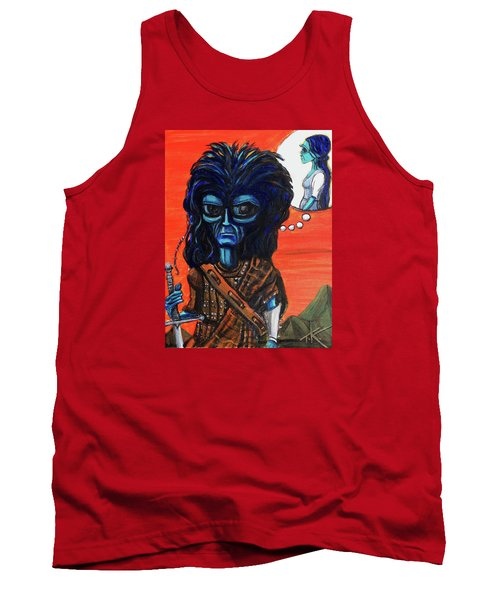 The Alien Braveheart Tank Top