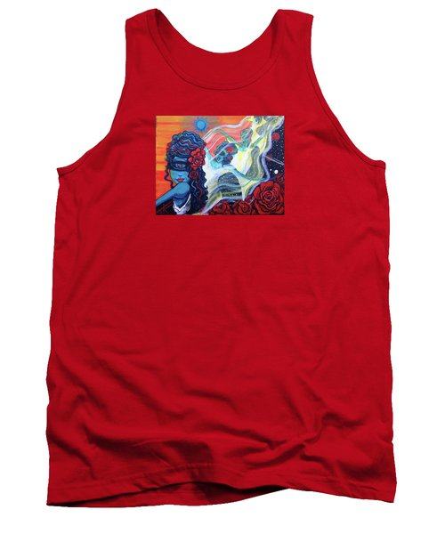The Alien Scarlet Begonias Tank Top