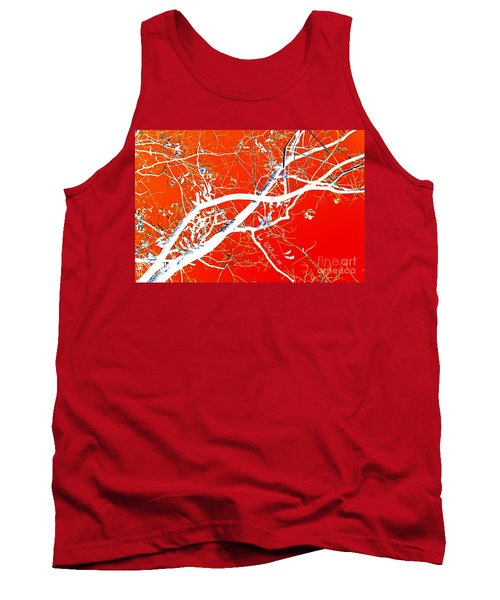 The Asian Tree Tank Top by Donna Bentley