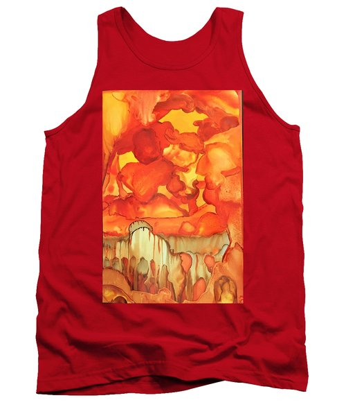 The Ball Of Fire Explodes Tank Top