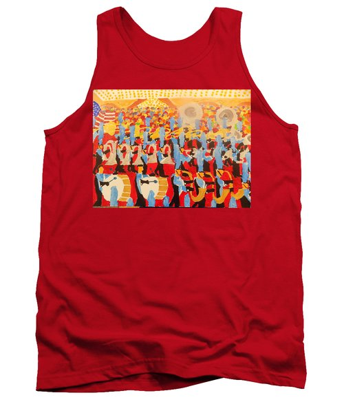 The Band Tank Top by Rodger Ellingson