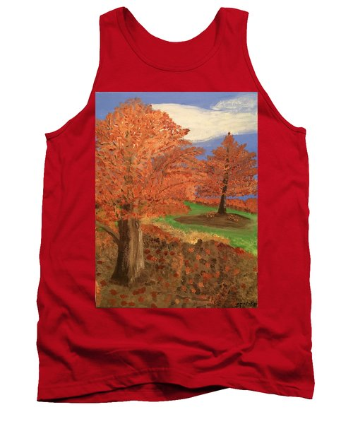 The Beauty Of Autumn  Tank Top