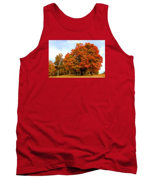 Tank Top featuring the photograph The Beauty Of Autumn  by Michael Rucker