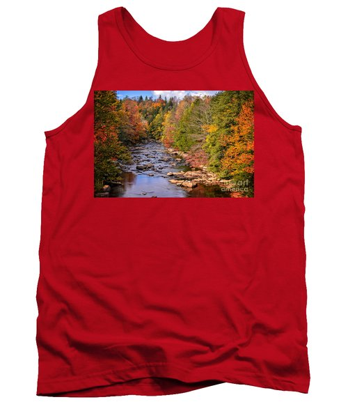 The Blackwater River In Autumn Color Tank Top