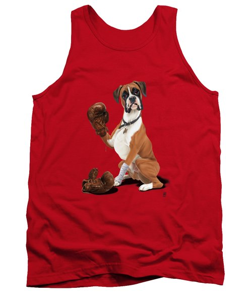 The Boxer Colour Tank Top by Rob Snow