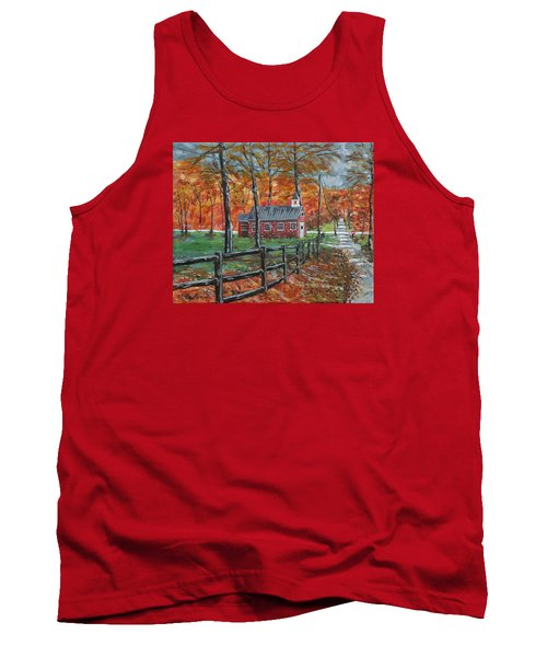 The Brick Country Schoolhouse Tank Top
