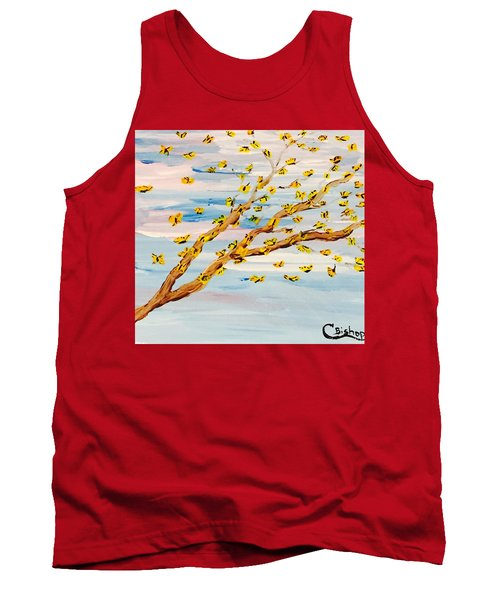 The Butterfly Tree Tank Top