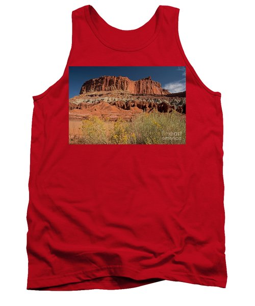 The Castle In Capital Reef Tank Top