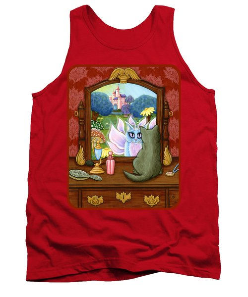 The Chimera Vanity - Fantasy World Tank Top by Carrie Hawks