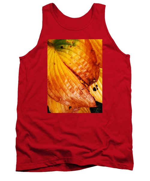 The Colors Of Autumn Tank Top by Mimulux patricia no No