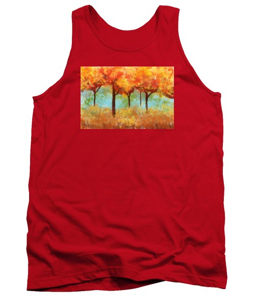 The Colors Of New Hampshire Tank Top