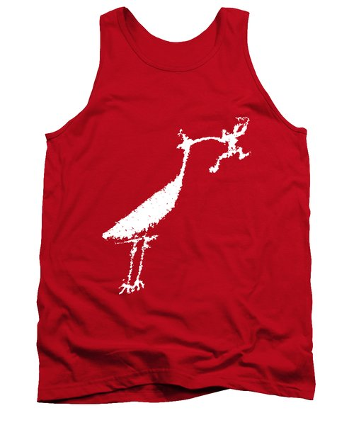 The Crane Tank Top by Melany Sarafis