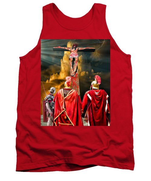 The Crucifixion Tank Top