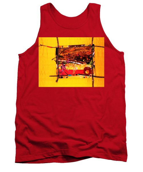 The Desert Is No Place For Chickens Tank Top