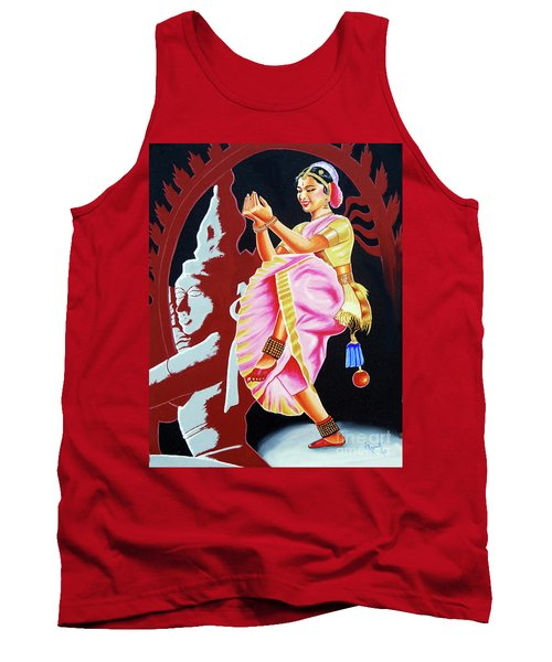 The Divine Dance Of Bharatanatyam Tank Top