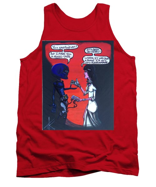 The Downside Of Time Travel Tank Top