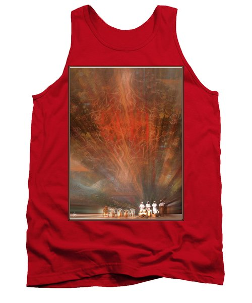 The Drumbeat Rising Tank Top