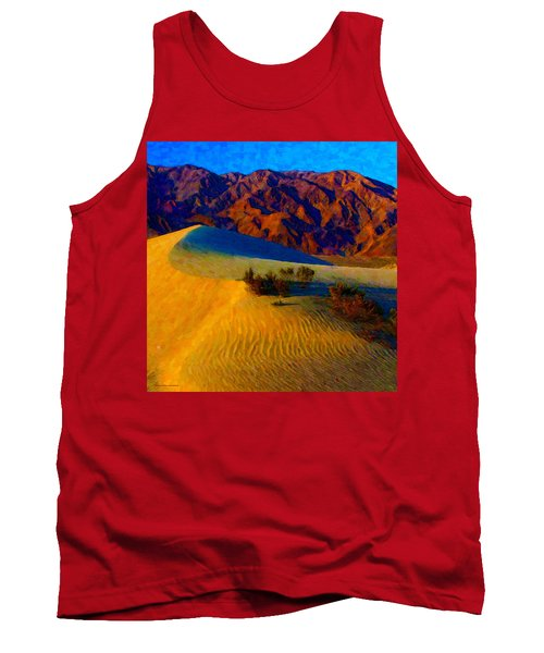 The Dunes At Dusk Tank Top