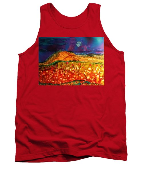 The Dunes At Night Tank Top