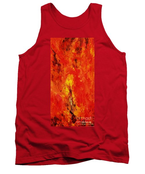 The Elements Fire #1 Tank Top