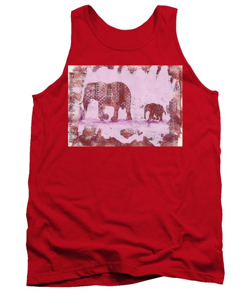 The Elephant March Tank Top