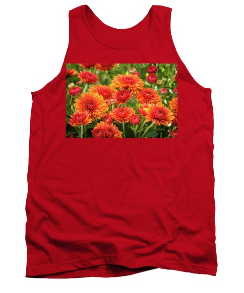 Tank Top featuring the photograph The Fall Bloom by Bill Pevlor
