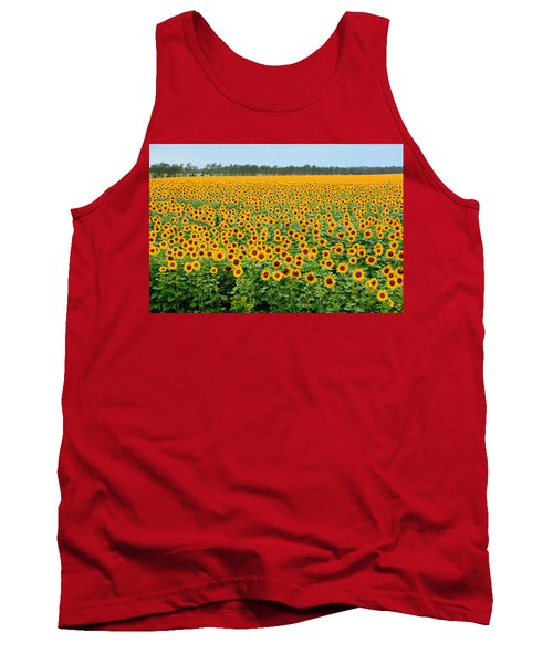 The Field Of Suns Tank Top