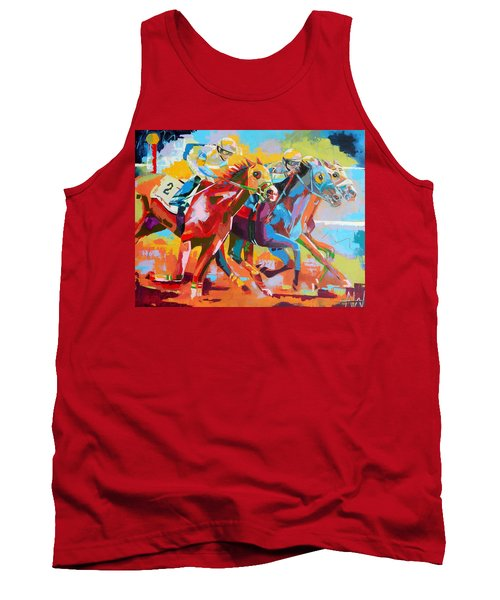 The Finishing Post- Large Work Tank Top