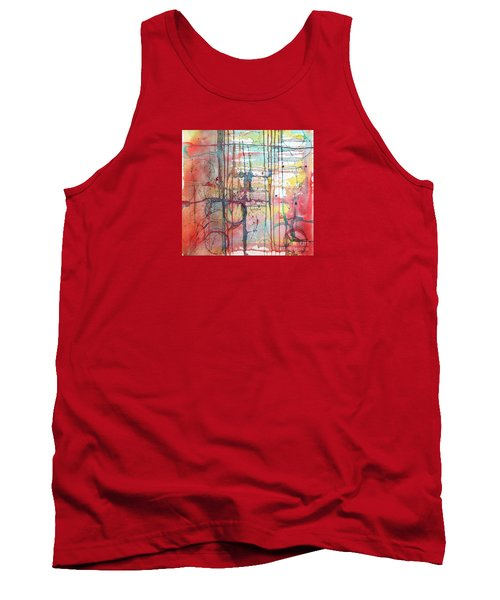 The Fire Within Tank Top by Rebecca Davis