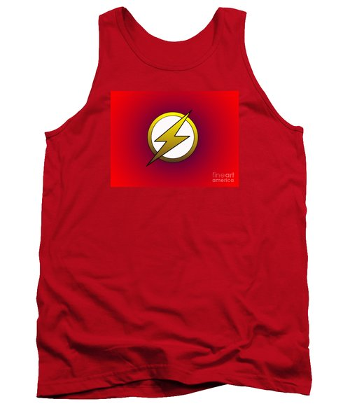 The Flash  Tank Top by Justin Moore