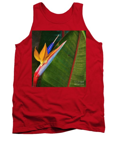 Tank Top featuring the photograph the flower of God by John Kolenberg