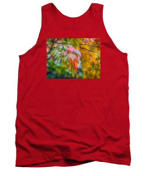 The Freshness Of Fall Tank Top by Ken Stanback