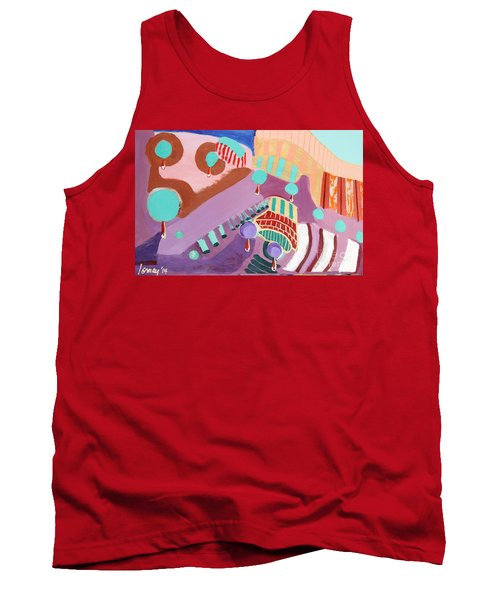 The Gates Of Hell Tank Top