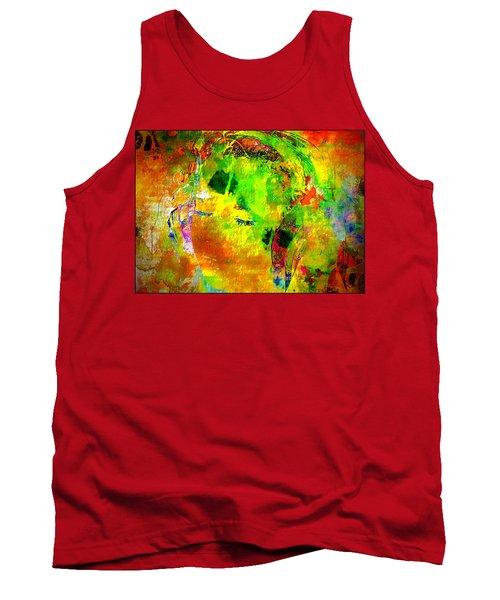 The Girl In Headphones Tank Top