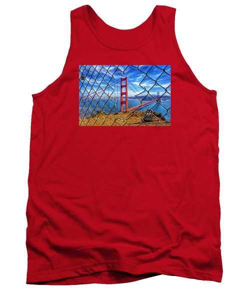 The Golden Gate Bridge  Tank Top by Alpha Wanderlust