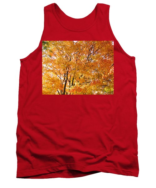 Tank Top featuring the photograph The Golden Takeover by Robert Knight