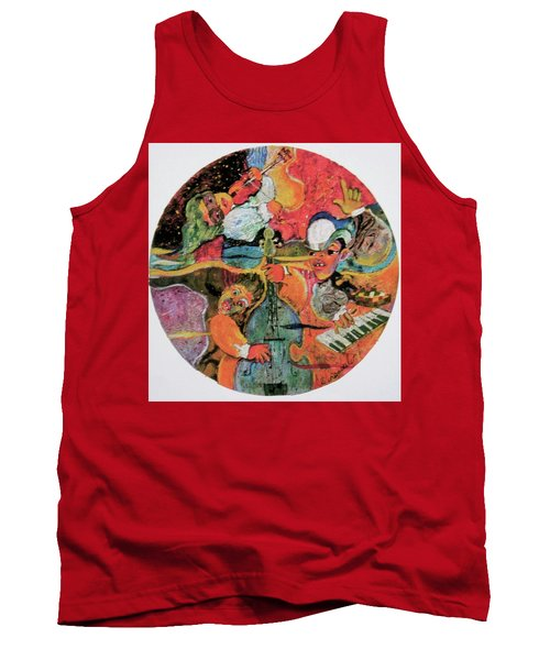 The Holland Jazz Trio Tank Top by Lee Ransaw