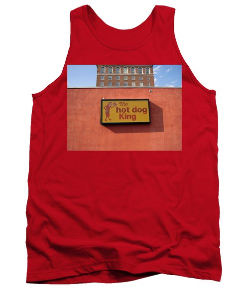 The Hot Dog King Tank Top