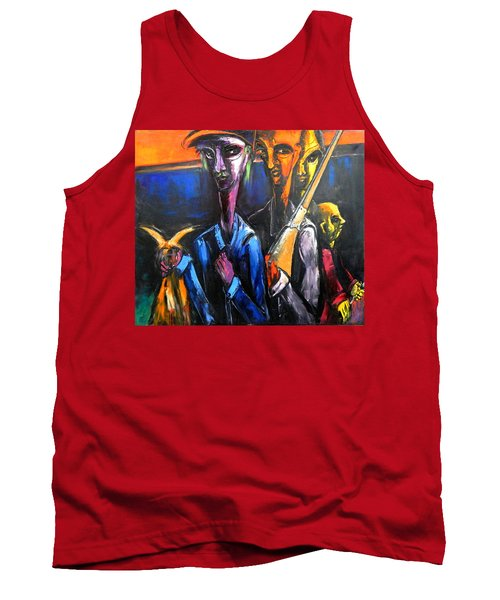 The Hunters Tank Top by Kenneth Agnello
