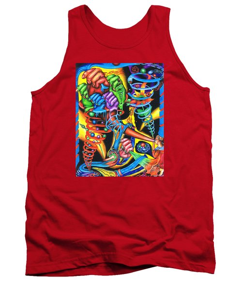 The Infinite Expansion Of A Cosmic Revelation Tank Top