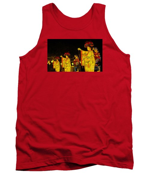 The Japanese Lantern Dancers Tank Top